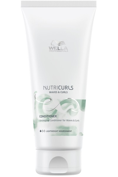 Wella Nutricurls Waves & Curls Conditioner 200ml