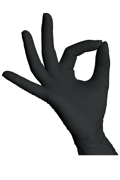 Handschuhe Schwarz Einweg M (100Stück)