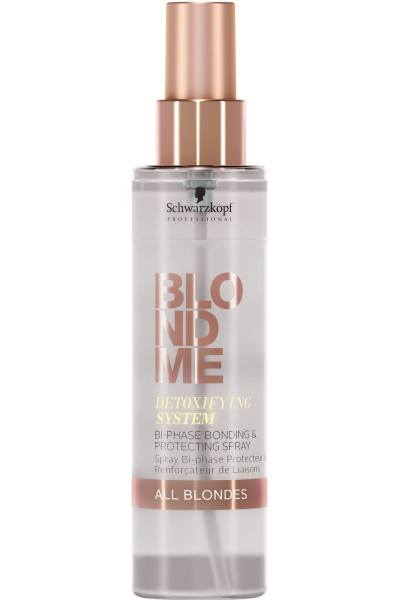 Schwarzkopf Professional BlondMe Detoxifying System Bi-Phase Bonding & Protecting Spray