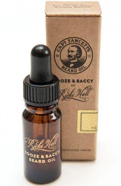 Captain Fawcett's Booze and Baccy Beard Oil 10 ml