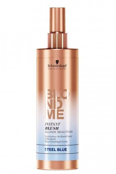 Schwarzkopf Professional BlondMe Instant Blush Haartönung Steelblue 250 ml