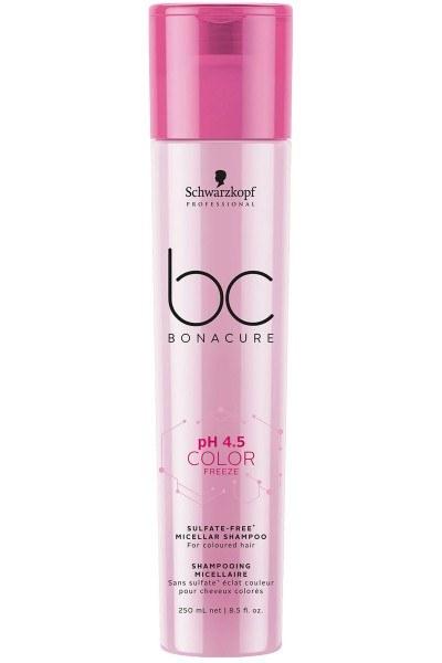 Schwarzkopf Professional BC pH 4.5 Color Freeze Sulfate-Free Micellar Shampoo 250ml