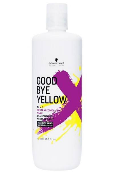Schwarzkopf Professional Goodbye Yellow Shampoo