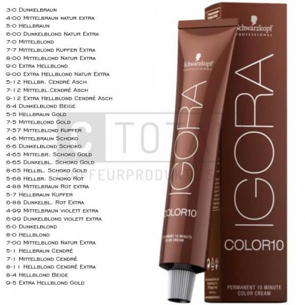 Schwarzkopf Igora Color10 Haarfarbe