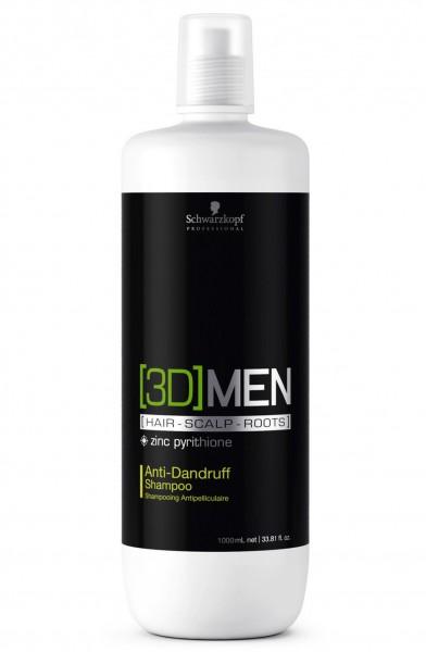 Schwarzkopf Professional 3D MEN Anti Schuppen Shampoo