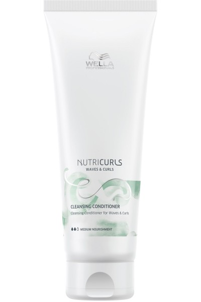 Wella Nutricurls Waves & Curls Cleansing Conditioner