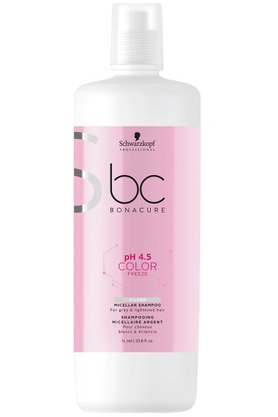 Schwarzkopf Professional BC pH 4.5 Color Freeze Silver Shampoo