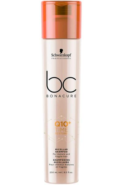 Schwarzkopf Professional BC Q10+ Time Restore Micellar Shampoo 250ml