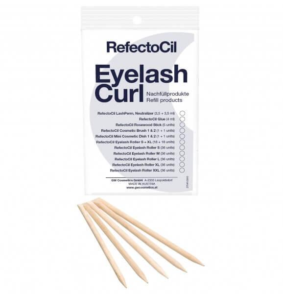 RefectoCil Application Rosewood Sticks (5 sticks)