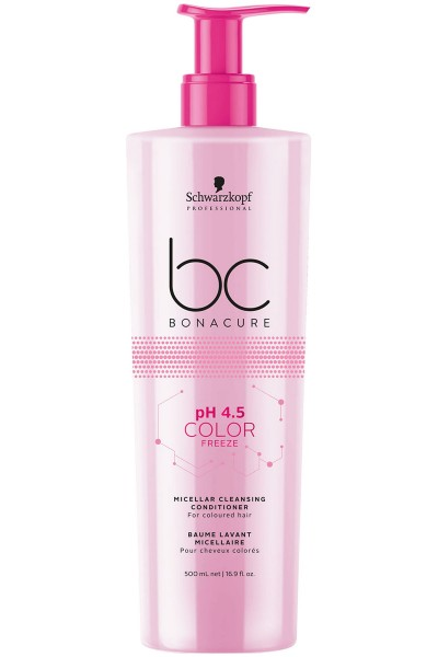 Schwarzkopf Professional BC pH 4.5 Color Freeze Micellar Cleansing Conditioner