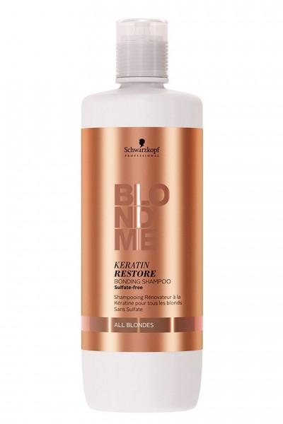 Schwarzkopf Professional BlondMe Keratin Restore Bonding Shampoo All Blondes 1000ml