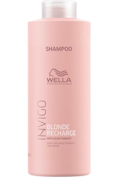 Wella Invigo Blond Recharge Cool Blonde Shampoo