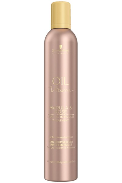 Schwarzkopf Professional Oil Ultime Light Oil In Mousse Treatment