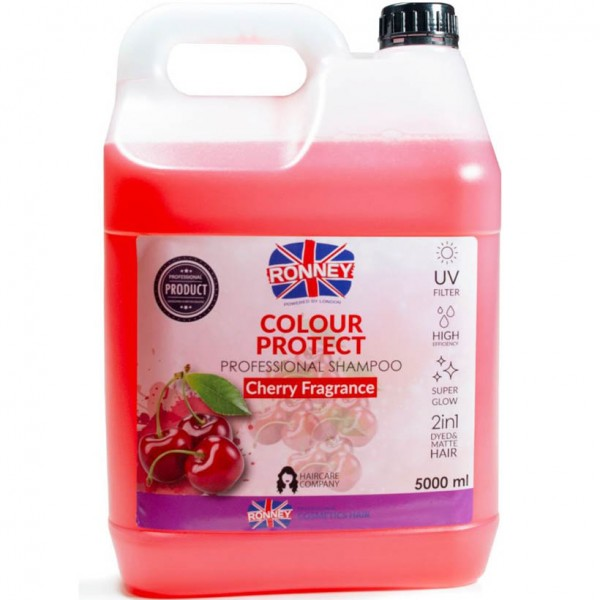 Ronney Professional Color Protect Cherry Frafrance Shampoo 5000ml