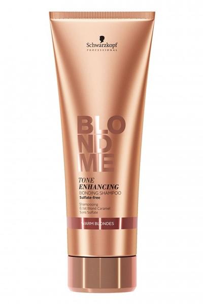 Schwarzkopf Blondme Enhancing Bonding Shampoo Warm Blondes 250ml