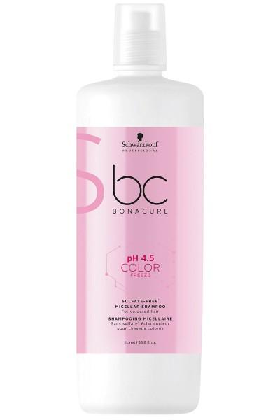 Schwarzkopf BC pH 4.5 Color Freeze Sulfate-Free Micellar Shampoo