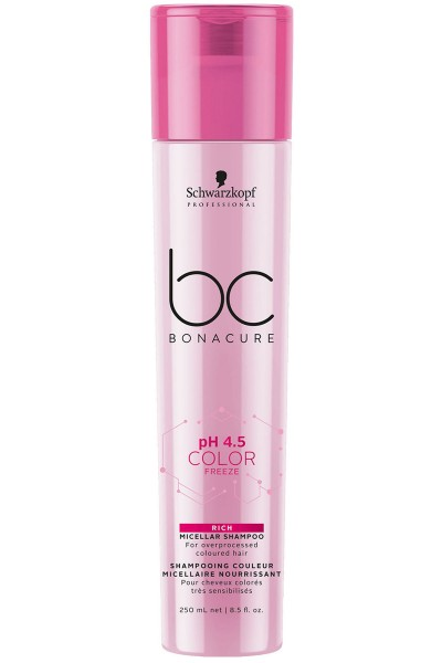 Schwarzkopf Professional BC pH 4.5 Color Freeze Rich Micellar Shampoo 250ml