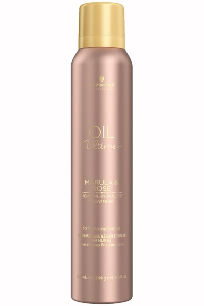 Schwarzkopf Professional Oil Ultime Light Oil In Mousse Treatment 200ml