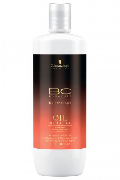 Schwarzkopf Professional BC Oil Miracle Argan Oil Oil In Shampoo 1000ml