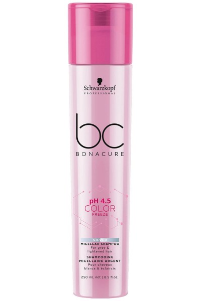 Schwarzkopf Professional BC pH 4.5 Color Freeze Silver Micellar Shampoo 250ml