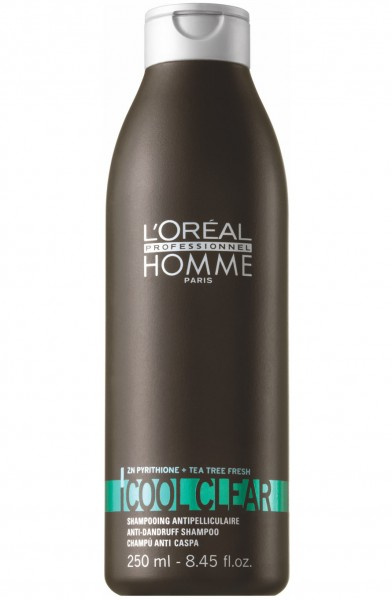 L'Oréal Professionnel Homme Cool Clear Anti Dandruff Shampoo