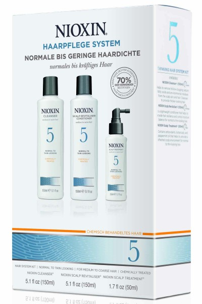 Wella Nioxin System 5 Trial Kit