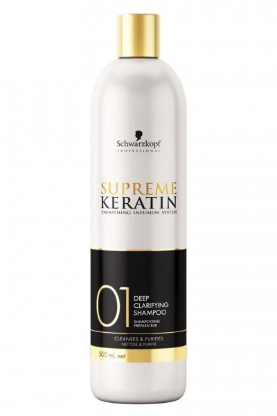 Schwarzkopf Supreme Keratin 01 Tiefenreinigungs Shampoo 500ml