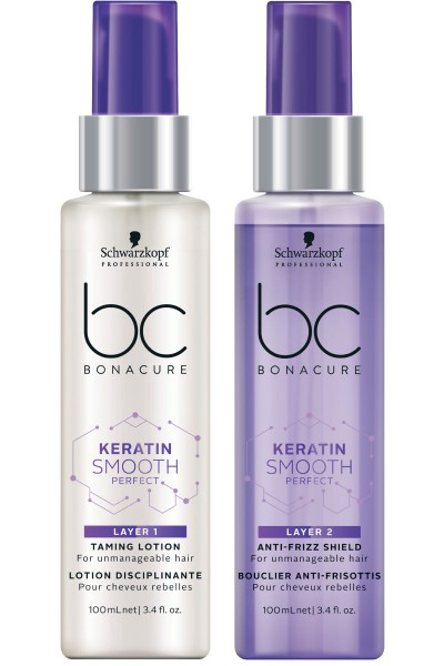 Schwarzkopf Professional BC Keratin Smooth Treatment Duo Layering