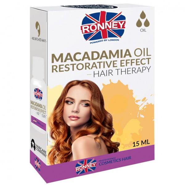 Ronney Professional Restorative Effect Macadamia Haar Öl 15ml