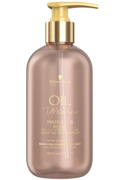 Schwarzkopf Professional Oil Ultime Light Oil-In Shampoo 300ml