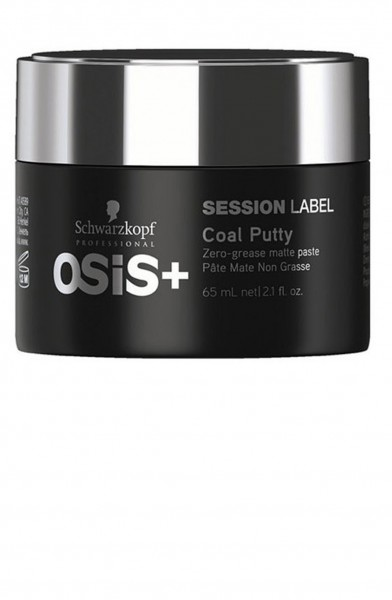Schwarzkopf Osis Session Label Coal Putty 65ml