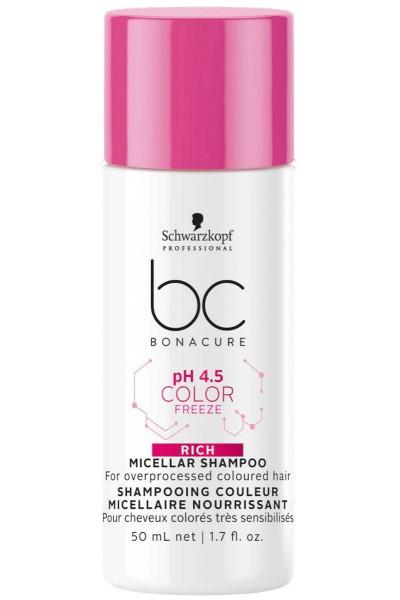 BC pH 4.5 Color Freeze Rich Micellar Shampoo
