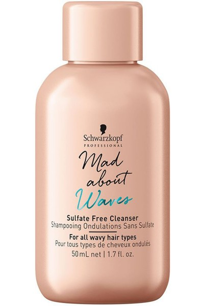 Schwarzkopf Professional Mad About Waves Sulfate Free Cleanser