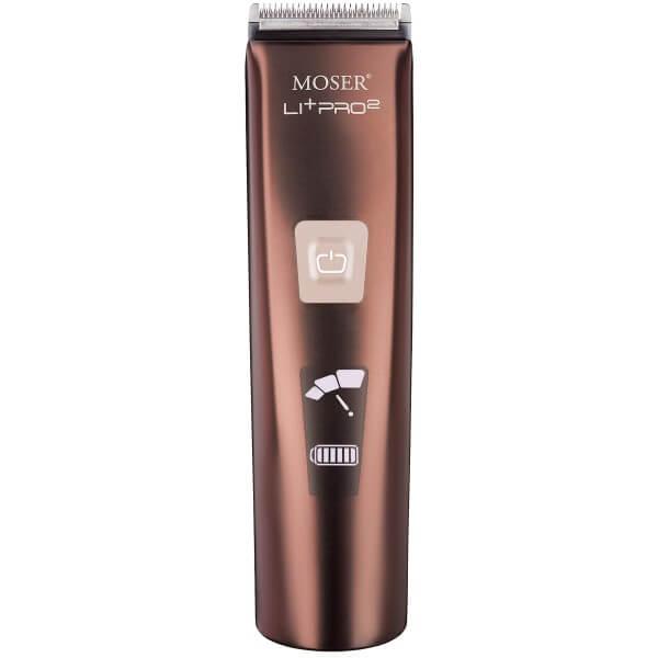 Moser 1888-0051 Li+Pro2 metallic braun Haarschneider
