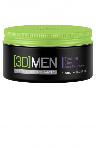 Schwarzkopf Professional 3D MEN Texture Clay