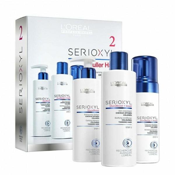 Loreal Professionnel Serie Expert Serioxyl Kit 2- Fuller Hair für (COLORIERTES HAAR)