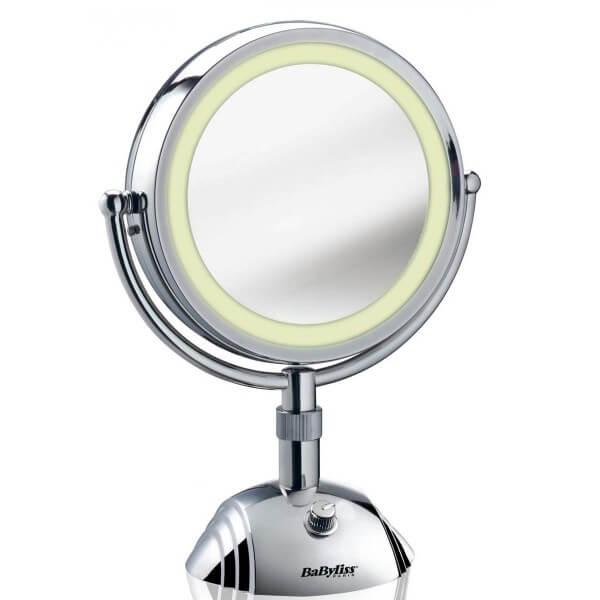 Babyliss 8438E Kosmetikspiegel 1x und 8x Vergrößerung