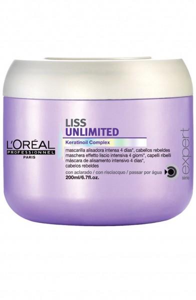 L'Oréal Professionnel Serie Expert Liss Unlimited Keratinoil Complex Maske