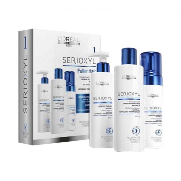 L'Oréal Professionnel Serie Expert Serioxyl Kit 1-Fuller Hair (NORMALES HAAR)