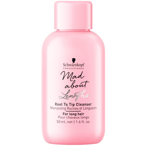 Schwarzkopf Mad About Lengths Root To Tip Cleanser 50ml