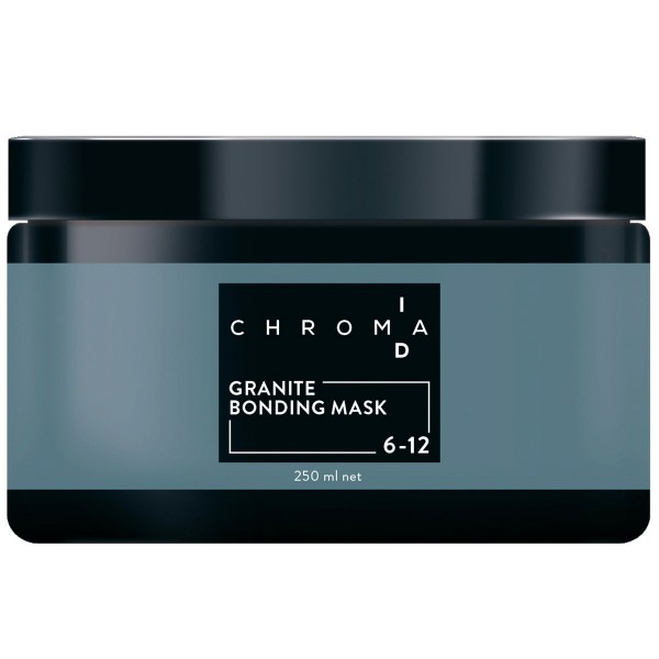 Schwarzkopf Chroma ID Home Care Bonding Color Mask 250ml 6-12 Dunkelblond Cendré Asch
