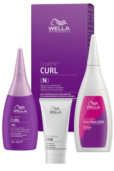 Wella Creatine + Curl Perm Kit Permanentkit