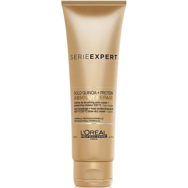 Loreal Serie Expert Absolut Repair Gold Quinoa + Protein Blow-Dry Cream 125ml