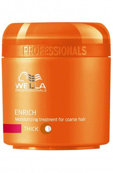 Wella Enrich Feuchtigkeitsspendende Maske (Kräftiges Haar)