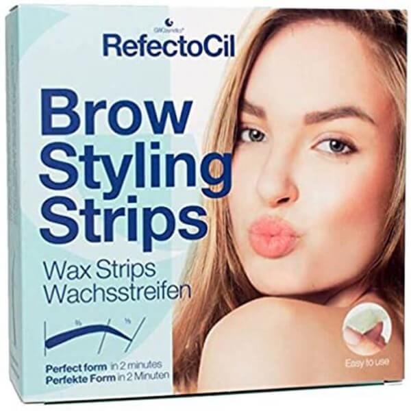 RefectoCil Brow Styling Strips Enthaarungsstreifen (20 Anwendungen)