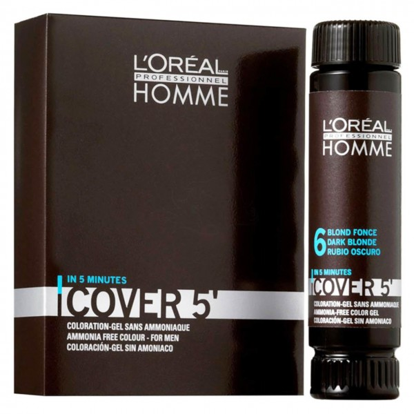 Loreal Homme Cover 5' Coloration Gel