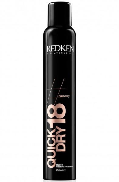 Redken Quick Dry 18 Hairspray 400ml