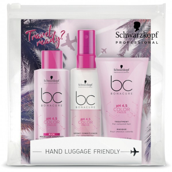 Schwarzkopf BC Travel Ready Prepacked pH 4.5 Color Freeze