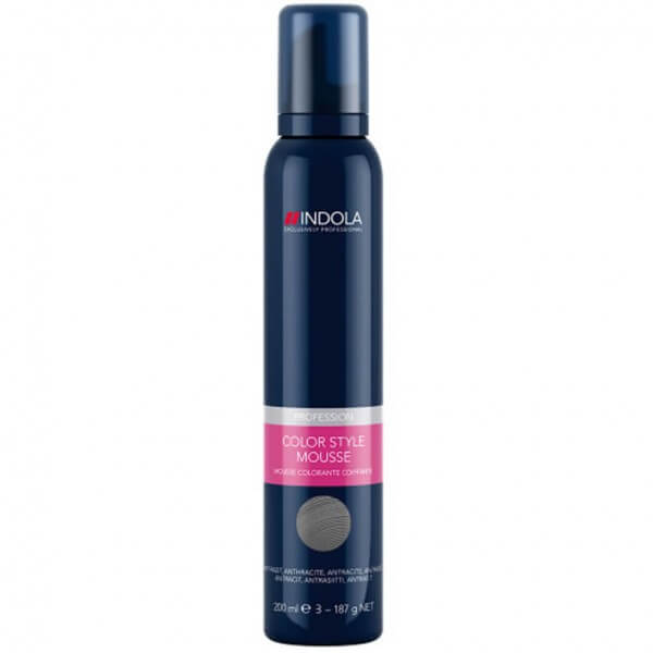 Indola Profession Color Style Mousse Anthrazit 200ml
