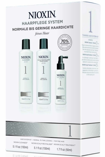 Wella Nioxin System 1 Trial Kit